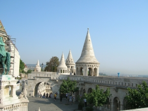 Fisherman's Bastion, Castle Hill, Budapest