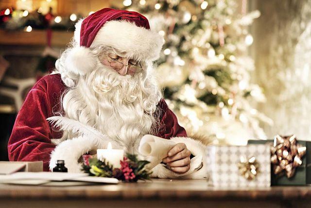 Santa Writing